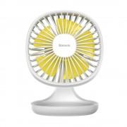 Настольный вентилятор Baseus Pudding-Shaped Fan CXBD-02 (Белый)