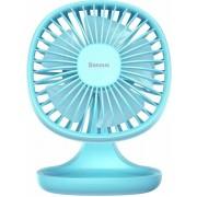 Настольный вентилятор Baseus Pudding-Shaped Fan CXBD-15 (Голубой)