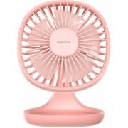 Настольный вентилятор Baseus Pudding-Shaped Fan CXBD-04 (Розовый)