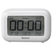 Настольные часы Baseus Subai Clock ACLK-B02 (Белый)