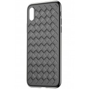 Чехол Baseus BV Weaving Case for iPhoneX WIAPIPHX-BV01 (Черный)