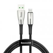 Кабель Baseus Waterdrop Cable USB For Micro 4A 1m CAMRD-B01 (Черный)