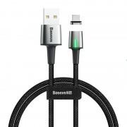 Магнитный кабель Baseus Zinc Magnetic Cable USB For Type-C 3A 1m CATXC-A01 (Черный)