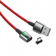 Магнитный кабель Baseus Zinc Magnetic Cable USB For Micro 2.4A 1m CAMXC-A09 (Красный)