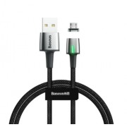Магнитный кабель Baseus Zinc Magnetic Cable USB For Micro 1.5A 2m CAMXC-B01 (Черный)