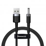 Кабель Baseus Cafule Cable USB to DC 3.5mm 2A 1m CADKLF-G1 (Серо-черный)