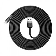 Кабель Baseus cafule Cable USB For Type-C 2A 3m CATKLF-UG1 (Серо-черный)
