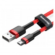 Кабель Baseus cafule Cable USB For Micro 2.4A 1M CAMKLF-B09 (Красно-красный)