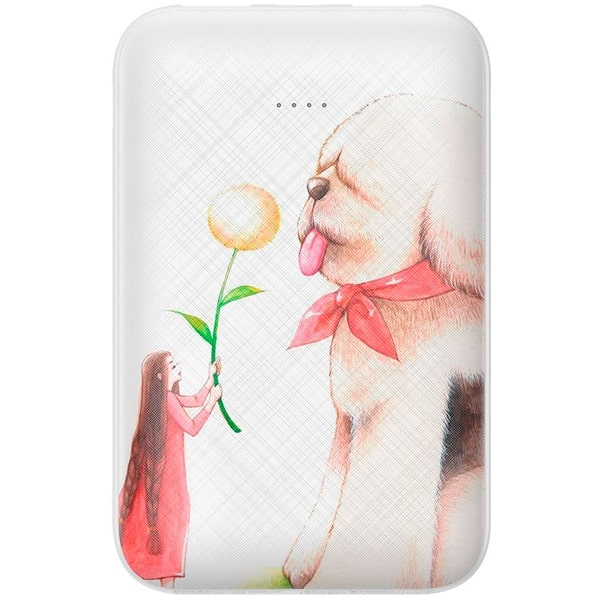 Внешний аккумулятор Baseus Mini JA Power Bank 10000mAh For Dog White PPX10-MC02