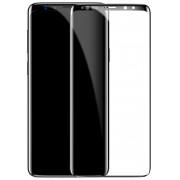 Защитное стекло Baseus 0.3mm All-screen Arc-surface Tempered Glass Film For S9 Plus SGSAS9P-TM01 (Черный)
