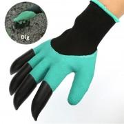 Многофункциональные садовые перчатки Garden Genie Glives с когтями