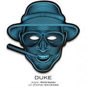 Звуковая светодиодная маска LED Mask Duke