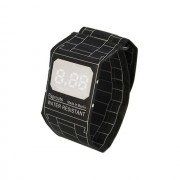 Бумажные часы Paper Watch Wristband (Черный)