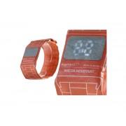 Бумажные часы Paper Watch Wristband (Красный)