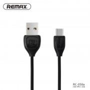Кабель USB - USB Type C Remax RC-050 (Черный)