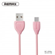 Кабель USB - USB Type C Remax RC-050 (Розовый)