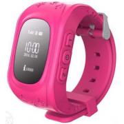 Умные часы Smart Baby Watch Q50 с GPS трекером (Розовый)