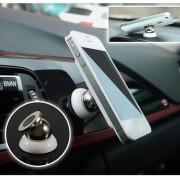 Универсальный автомобильный магнитный держатель для смартфона (Черный)