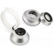 Объектив Baseus Mini Lens SUGENT-LE0S для смартфонов 3 в 1 (Серебрянный)