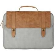 Сумка для ноутбука Baseus British Series Laptop Bag 14 дюймов LTBASEST-BP08 (Коричнево-серый)