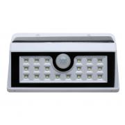 Настенный уличный LED светильник на солнечных батареях с датчиком движения (Белый)