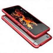 Алюминиевый бампер для Xiaomi Mi5s (Luphie, красный)