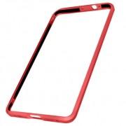 Алюминиевый бампер для Xiaomi Mi5S Plus (Luphie, красный)