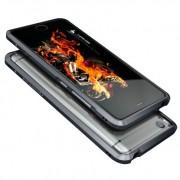 Алюминиевый бампер для Xiaomi Mi5s (Luphie, серый)