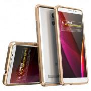 Аллюминиевый бампер-рамка для Xiaomi Redmi Note 3 (золотой)