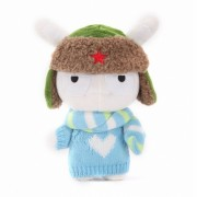 Мягкая игрушка Xiaomi Mi Bunny в свитере 25 см (Голубой)