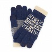 Перчатки для сенсорных экранов (Синий)