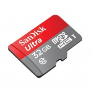 Карта памяти SanDisk microSD 32Gb класс 10 (80 мб/с)