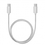 Дата-кабель USB Type-C – USB Type-C 120см (Deppa, серебристый)