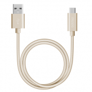 Дата-кабель USB А 3.0 - USB Type-C 120см (Deppa, золотой)