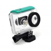 Waterproof Box for Xiaomi Yi Camera - аквабокс для Xiaomi Yi Action (зеленый) sku 83000417B