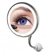 Зеркало со светодиодной подсветкой косметическое для девушек и мужчин My Flexible Mirror
