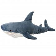 Мягкая игрушка-подушка Акула для детей и взрослых 60 см (Серая)