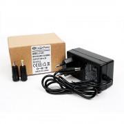 Блок питания Live-Power LP225 12V/2A + 2 насадки (Черный)