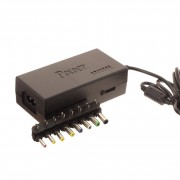 Блок питания Live-Power LP508 12V-24V/4A + 8 насадок (Черный)