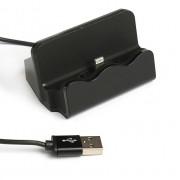 Зарядное устройство-подставка для iPhone D-45 (Черный)