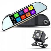 Зеркало видеорегистратор XPX ZX829 (Черный)