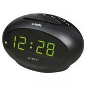 Электронные часы VST-711-2 (Черный-зеленый)