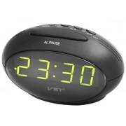 Электронные часы VST-711-4 (Черный-ярко-зеленый)
