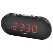 Электронные часы VST-715-1 (Черный-красный)