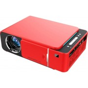 LED проектор T6S c WiFi (Красный)