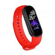 Фитнес-браслет Smart Bracelet M5 Black (Красный)