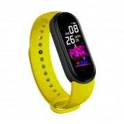 Фитнес-браслет Smart Bracelet M5 Black (Желтый)
