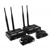 Удлинитель HDMI WiFi T-WS200 200м (Черный)