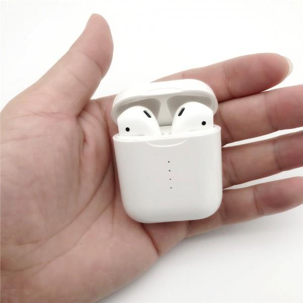 Беспроводные наушники сенсорные TWS i10 Bluetooth 5.0 автосинхронизация (Белый)