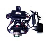 Налобный светодиодный фонарь MX-FX-1306-COR (Черный)
